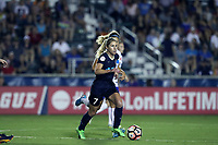 Cary, North Carolina  - Saturday June 17, 2017: McCall Zerboni during a regular season National Women's Soccer League (NWSL) match between the North Carolina Courage and the Boston Breakers at Sahlen's Stadium at WakeMed Soccer Park. The Courage won the game 3-1.