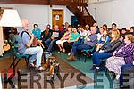 Breanndán Ó Beaglaoich entertained a full house in the Hall at Dromid Community Centre for Culture night.