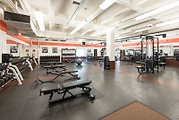 Varsity Weight Room, Athletics facility, Sept. 16, 2016.<br />