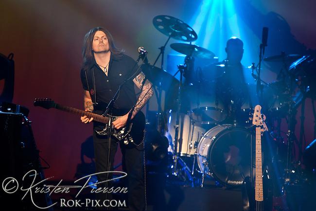 Brit Floyd P-U-L-S-E tour performs at Veterans Memorial Auditorium in Providence, Rhode Island April 7, 2013