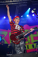 BLACKPOOL, ENGLAND - AUGUST 6: Captain Sensible(Raymond Ian Burns) of 'The Damned' performing at Rebellion Festival, Tower St Arena on August 6, 2016 in Blackpool, England.<br /> CAP/MAR<br /> &copy;MAR/Capital Pictures /MediaPunch ***NORTH AND SOUTH AMERICAS ONLY***