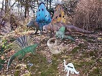 Wells Dinosaur Haven in Uncasville, Connecticut.
