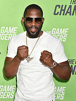 "HOLLYWOOD, CA - SEPTEMBER 04: Bryant Jennings attends the LA Premiere Of ""The Game Changers"" at ArcLight Hollywood on September 04, 2019 in Hollywood, California.<br /> CAP/ROT/TM<br /> ©TM/ROT/Capital Pictures"