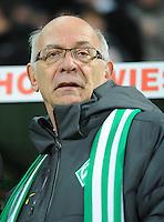 FUSSBALL   1. BUNDESLIGA    SAISON 2012/2013    14. Spieltag   SV Werder Bremen - Bayer 04 Leverkusen                28.11.2012 Praesident Klaus-Dieter Fischer (SV Werder Bremen)