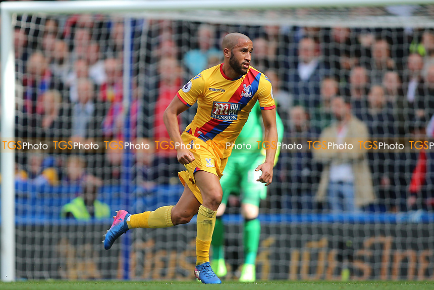 Andros Townsend during Chelsea vs Crystal Palace, Premier League Football at Stamford Bridge on 1st April 2017