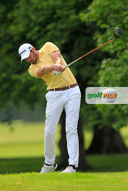 Mark Talbot (Thorpe Hall GC) on the 2nd tee during Round 2 of the Titleist &amp; Footjoy PGA Professional Championship at Luttrellstown Castle Golf &amp; Country Club on Wednesday 14th June 2017.<br /> Photo: Golffile / Thos Caffrey.<br /> <br /> All photo usage must carry mandatory copyright credit     (&copy; Golffile | Thos Caffrey)