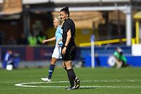 Referee Rebecca Welch during Chelsea Women vs Manchester City Women, FA Women's Super League FA WSL1 Football at Kingsmeadow on 9th September 2018
