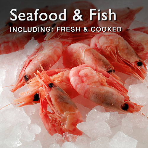 Food Pictures & images of fresh and cooked seafood & fish