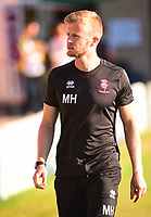 Lincoln City's head of sports science and medicine Mike Hine<br /> <br /> Photographer Andrew Vaughan/CameraSport<br /> <br /> Football Pre-Season Friendly - Lincoln City v Norwich City - Tuesday 10th July 2018 - Sincil Bank - Lincoln<br /> <br /> World Copyright &copy; 2018 CameraSport. All rights reserved. 43 Linden Ave. Countesthorpe. Leicester. England. LE8 5PG - Tel: +44 (0) 116 277 4147 - admin@camerasport.com - www.camerasport.com
