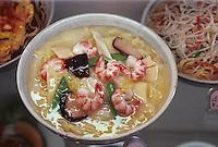"""Asie/Japon/Tokyo/Asakusa: Reproduction des plats pour devanture de restaurant dit """"Mihon"""""""