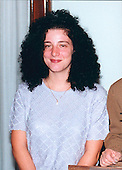 This is supposedly the last photo of Chandra Ann Levy.  It was taken on October 4, 2000 at a Congressional breakfast in Washington, DC.  Photo provided by the Levy family from United States Senator Barbara Boxer (Democrat of California). It is being reported on May 19, 2016 that the investigation into her death is being reopened with new details about her alleged relationship with former US Representative Gary A. Condit (Democrat of California)<br /> Credit: Levy Family via CNP