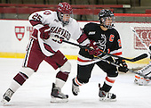 Sydney Daniels (Harvard - 25), Gabie Figueroa (Princeton - 21) - The Harvard University Crimson defeated the visiting Princeton University Tigers 4-0 on Saturday, October 26, 2013, at Bright-Landry Hockey Center in Cambridge, Massachusetts.