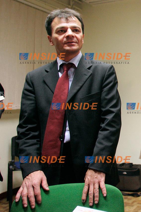 """STEFANO FASSINA..Roma 01/12/2011 CGIL Lazio. Presentazione del libro """"Referendum e alternativa politica""""...Photo Samantha Zucchi Insidefoto"""