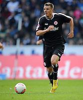 FUSSBALL   1. BUNDESLIGA  SAISON 2012/2013   7. Spieltag   Borussia Moenchengladbach - Eintracht Frankfurt   07.10.2012 Alexander Maier (Eintracht Frankfurt)  Einzelaktion am Ball