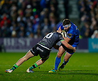 4th January 2020; RDS Arena, Dublin, Leinster, Ireland; Guinness Pro 14 Rugby, Leinster versus Connacht; Fergus McFadden of Leinster is tackled by Conor Fitzgerald of Connacht - Editorial Use