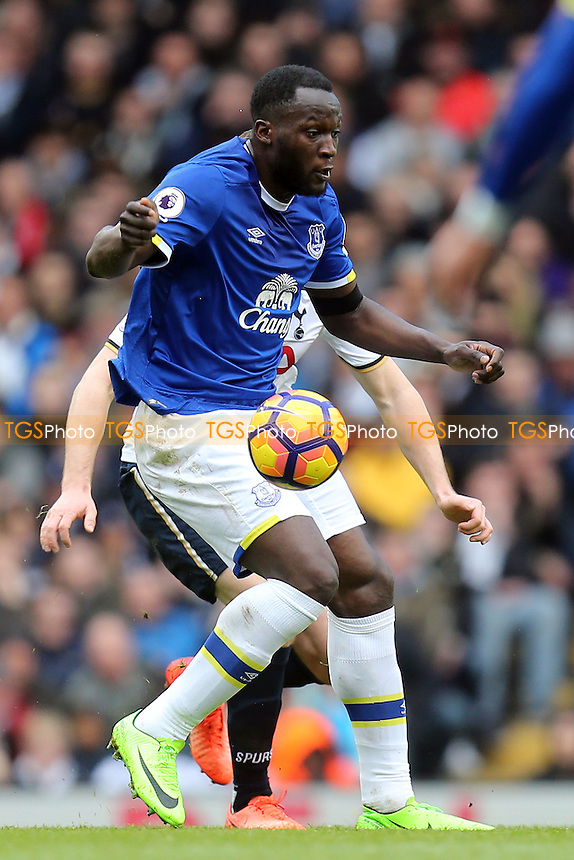 Romelu Lukaku of Everton during Tottenham Hotspur vs Everton, Premier League Football at White Hart Lane on 5th March 2017