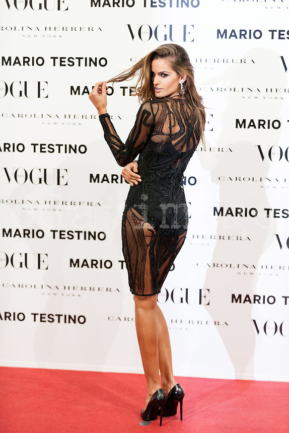 Izabel Goulart at Vogue December Issue Mario Testino Party