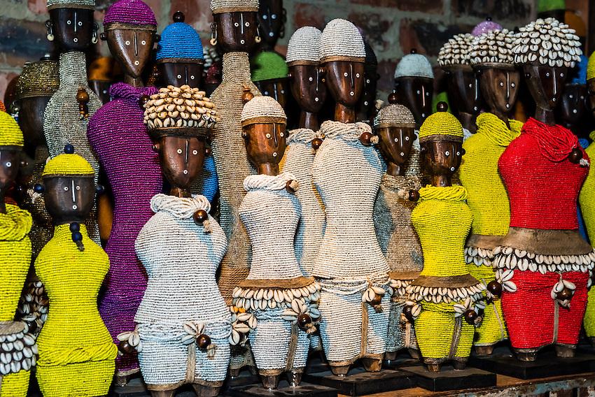 African handicrafts, Amatuli Fine Art, Johannesburg, South Africa.
