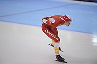 SCHAATSEN: HEERENVEEN: IJsstadion Thialf, 11-11-2012, KPN NK afstanden, Seizoen 2012-2013, 5000m Dames, Annouk van der Weijden, ©foto Martin de Jong