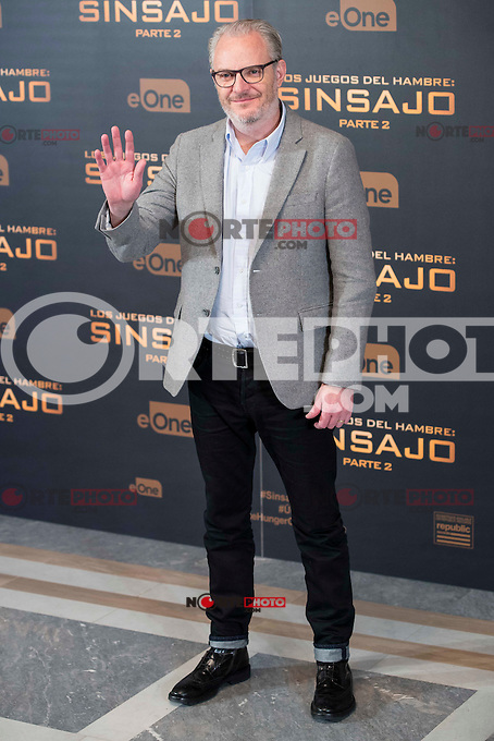 Director Francis Lawrence during the presentation of film &quot;The Hunger Games: Sinsajo Part 2&quot; in Madrid, Novermber 10, 2015.<br /> (ALTERPHOTOS/BorjaB.Hojas)