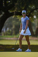 Anna Nordqvist (SWE) watches her putt on 1 during round 1 of the 2019 US Women's Open, Charleston Country Club, Charleston, South Carolina,  USA. 5/30/2019.<br /> Picture: Golffile | Ken Murray<br /> <br /> All photo usage must carry mandatory copyright credit (© Golffile | Ken Murray)