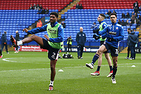 Bolton Wanderers' Mark Little warming up before the match against Fulham<br /> <br /> Photographer Leila Coker/CameraSport<br /> <br /> The EFL Sky Bet Championship - Bolton Wanderers v Fulham - Saturday 10th February 2018 - Macron Stadium - Bolton<br /> <br /> World Copyright &copy; 2018 CameraSport. All rights reserved. 43 Linden Ave. Countesthorpe. Leicester. England. LE8 5PG - Tel: +44 (0) 116 277 4147 - admin@camerasport.com - www.camerasport.com