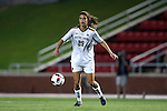 22 September 2016: Notre Dame's Taylor Klawunder. The North Carolina State University Wolfpack hosted the University of Notre Dame Fighting Irish at Dail Soccer Field in Raleigh, North Carolina in a 2016 NCAA Division I Women's Soccer match. Notre Dame won the game 1-0.