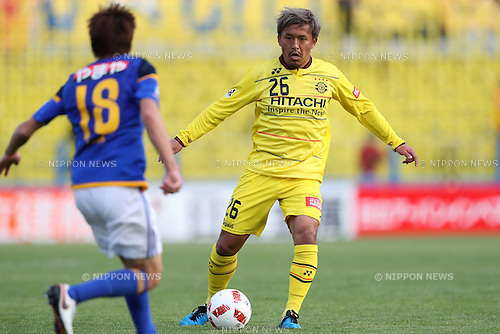 Tetsuro Ota (Reysol), <br /> MARCH 27, 2016 - Football / Soccer : 2016 J.League Yamazaki Nabisco Cup Group B match between Kashiwa Reysol 0-1 Vegalta Sendai at Hitachi Kashiwa Stadium in Chiba, Japan. (Photo by Jun Tsukida/AFLO SPORT)