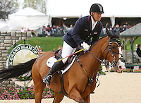 Bruce 'Buck' Davidson Jr. and #31 Mar De Amor from the USA at the Rolex Three Day Event..   April 28, 2013..