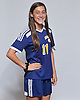 Hope Breslin of Massapequa poses for a portrait during the Newsday 2015 varsity girls' soccer season preview photo shoot at company headquarters on Thursday, September 10, 2015.<br /> <br /> James Escher