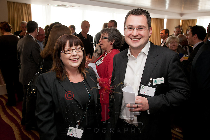 Sallyanne Thomas of Thorne Baker and Nic Elliott of Actons