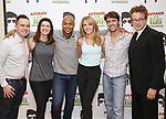 Benjamin Rauhala, Melissa Zaremba, Curtis Wiley, Ashley Spencer, Eric Sciotto and Don Stephenson during the Press preview for 'Attack of the Elvis Impersonators'  at Shelter Studios on May 22, 2017 in New York City. attends the Press preview for 'Attack of the Elvis Impersonators'  at Shelter Studios on May 22, 2017 in New York City.