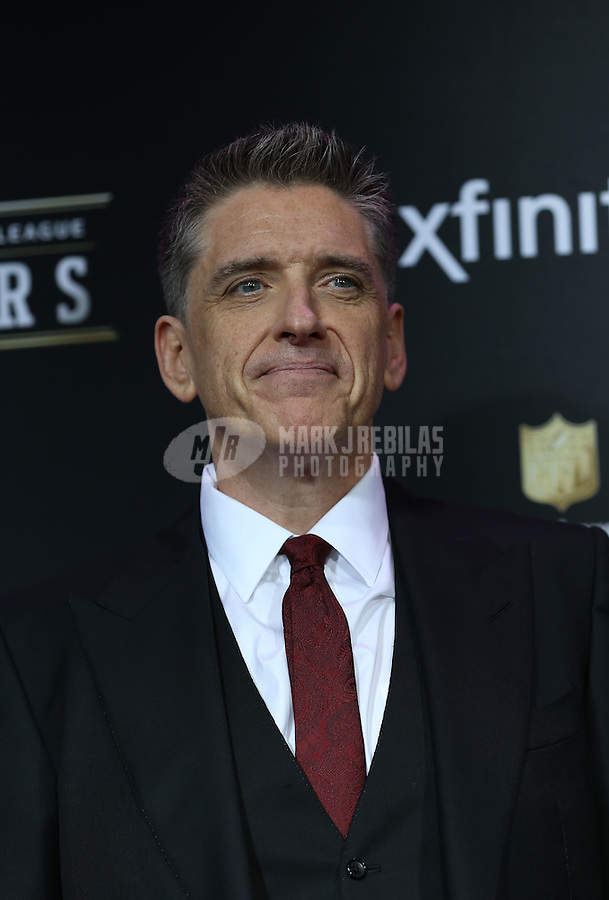 Feb. 2, 2013; New Orleans, LA, USA:  Television talk show host Craig Ferguson on the red carpet prior to the Super Bowl XLVII NFL Honors award show at Mahalia Jackson Theater. Mandatory Credit: Mark J. Rebilas-USA TODAY Sports