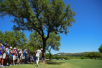 Alex Noren (SWE) hits his approach shot on 7 during round 5 of the World Golf Championships, Dell Technologies Match Play, Austin Country Club, Austin, Texas, USA. 3/25/2017.<br /> Picture: Golffile | Ken Murray<br /> <br /> <br /> All photo usage must carry mandatory copyright credit (&copy; Golffile | Ken Murray)