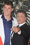 Sylvester Stallone and Conor Dwyer at Lionsgate World Premiere of The Expendables 2 held at The Grauman's Chinese Theatre in Hollywood, California on August 15,2012                                                                               © 2012 Hollywood Press Agency