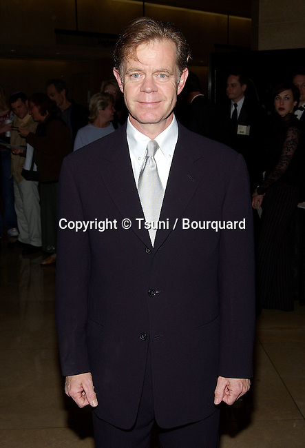 """William H. Macy arriving at the """"53th Annual ACE EDDIE AWARDS 2003"""" at the Beverly Hilton In Los Angeles. February 23, 2003.          -            MacyWilliamH07.jpg"""