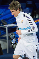 Coentrao exit the changing rooms