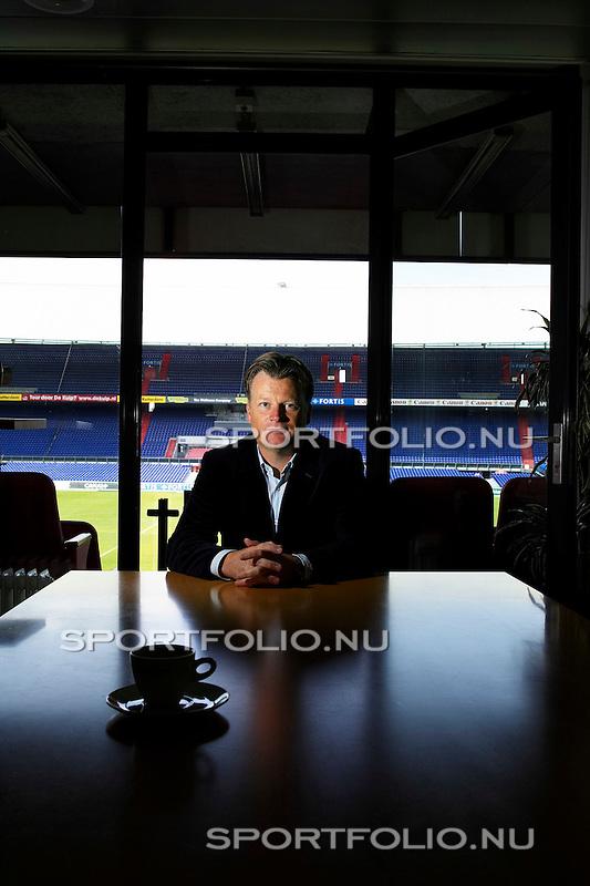 Nederland, Rotterdam, 8 juni 2005. .Mark Wotte, technisch directeur van Feyenoord.