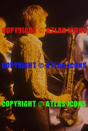 BOBBY KEYS, LIVE, ROLLING STONES, 1972, NEIL ZLOZOWER