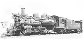 Left side view of K-28 #475 at Antonito.<br /> D&amp;RGW  Antonito, CO  Taken by Jackson, Richard B. - 7/11/1939