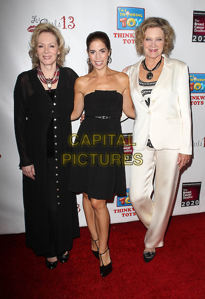 Jean Smart, Ana Ortiz, Deborah May<br /> The National Breast Cancer Coalition Fund Presents The 13th Annual Les Girls  Held at Avalon, Hollywood, California, USA.<br /> October 7th, 2013<br /> full length dress black strapless white suit<br /> CAP/ADM/KB<br /> &copy;Kevan Brooks/AdMedia/Capital Pictures