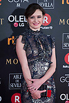 Emily Mortimer attends red carpet of Goya Cinema Awards 2018 at Madrid Marriott Auditorium in Madrid , Spain. February 03, 2018. (ALTERPHOTOS/Borja B.Hojas)