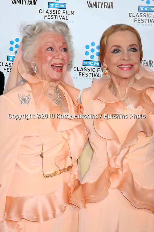 ".Ann Rutherford & Anne Jeffreys.arrives at the ""A Star is Born"" Restored Print World Premiere , part of the Turner Classic Movie Channel Classic Movie Festival.Grauman'S Chinese.Los Angeles, CA.April 22, 2010.©2010 Kathy Hutchins / Hutchins Photo..."