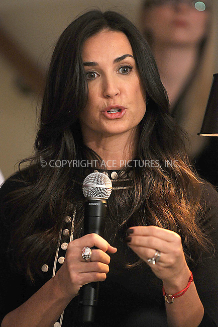 WWW.ACEPIXS.COM . . . . . ....April 30 2009, New York City....Actress Demi Moore attends a press conference to announce the partnership of Cartier with Servicenation at Cartier Mansion on April 30, 2009 in New York City.....Please byline: KRISTIN CALLAHAN - ACEPIXS.COM.. . . . . . ..Ace Pictures, Inc:  ..tel: (212) 243 8787 or (646) 769 0430..e-mail: info@acepixs.com..web: http://www.acepixs.com