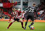 Oliver Norwood of Sheffield Utd and Ondrej Duda of Norwich City  during the Premier League match at Bramall Lane, Sheffield. Picture date: 7th March 2020. Picture credit should read: Simon Bellis/Sportimage