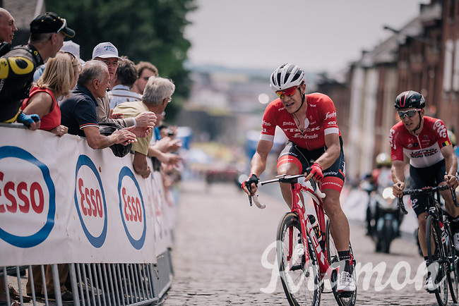 Jasper Stuyven (BEL/Trek-Segafredo)<br /> <br /> Belgian National Championships 2018 (road) in Binche (224km)<br /> ©kramon