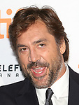 Javier Bardem attends the 'Mother!' premiere during the 2017 Toronto International Film Festival at Princess of Wales Theatre on September 10, 2017 in Toronto, Canada.