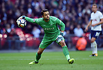 Swansea City goalkeeper Lukasz Fabianski during the premier league match at the Wembley Stadium, London. Picture date 16th September 2017. Picture credit should read: Robin Parker/Sportimage