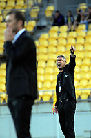 Phoenix coach Mark Rudan during the A-League football match between Wellington Phoenix and Perth Glory at Westpac Stadium in Wellington, New Zealand on Saturday, 2 December 2018. Photo: Dave Lintott / lintottphoto.co.nz