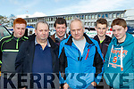Flat in 6th<br /> -------------<br /> Enjoying all the thrills at the Rally last Sunday in Killarney were L-R Michael Condon Jnr&amp;Snr, Phil Daly, Paul Browne, Alan O'Leary with Jason Browne.